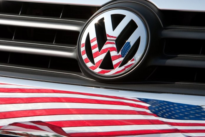 vw logo usa