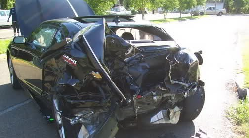 Will the insurance company total your car after a car accident?