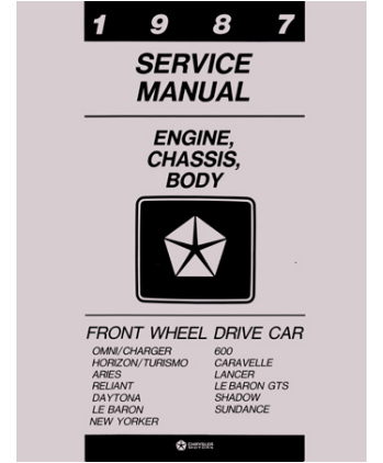 87 Chrysler Lebaron Wiring Diagram Index listing of wiring diagrams