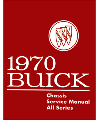 1970 BUICK Full Line Chassis  Electrical Service Manual