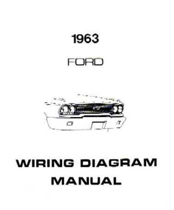 1963 Galaxie Wiring Diagram Wiring Diagram