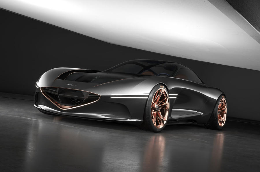 Tron Legacy Car Wallpaper Genesis Essentia Concept Previews Electric Gt Set Autocar