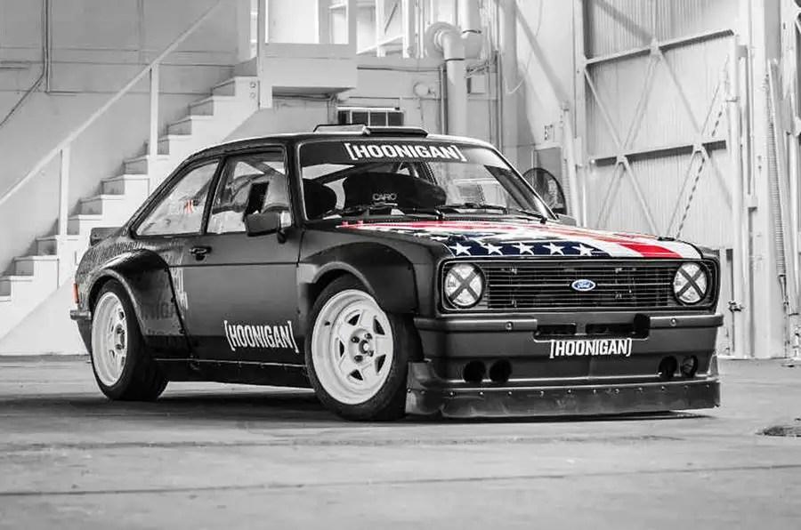 Monster Rally Car Wallpaper Ken Block Reveals Gymkhana Ford Escort Mk2 Rs Autocar