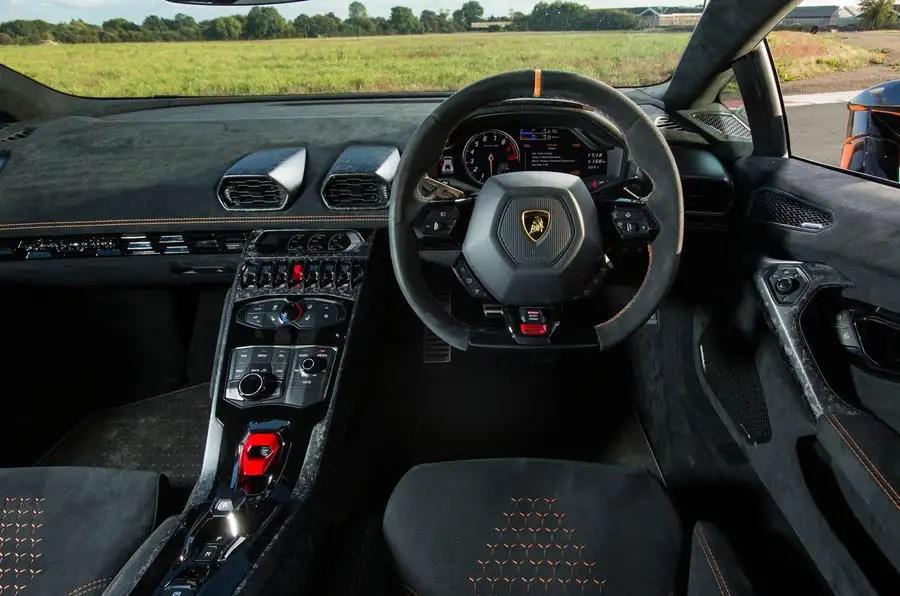 Red Lamborghini Car Wallpaper Lamborghini Hurac 225 N Performante Interior Autocar