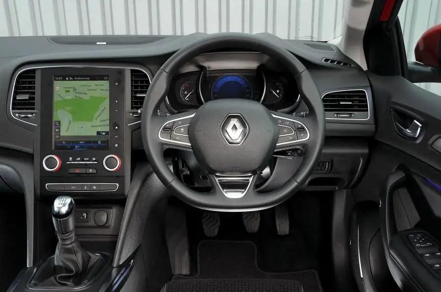 Car Display Wallpaper Vw Renault Megane Review 2019 Autocar