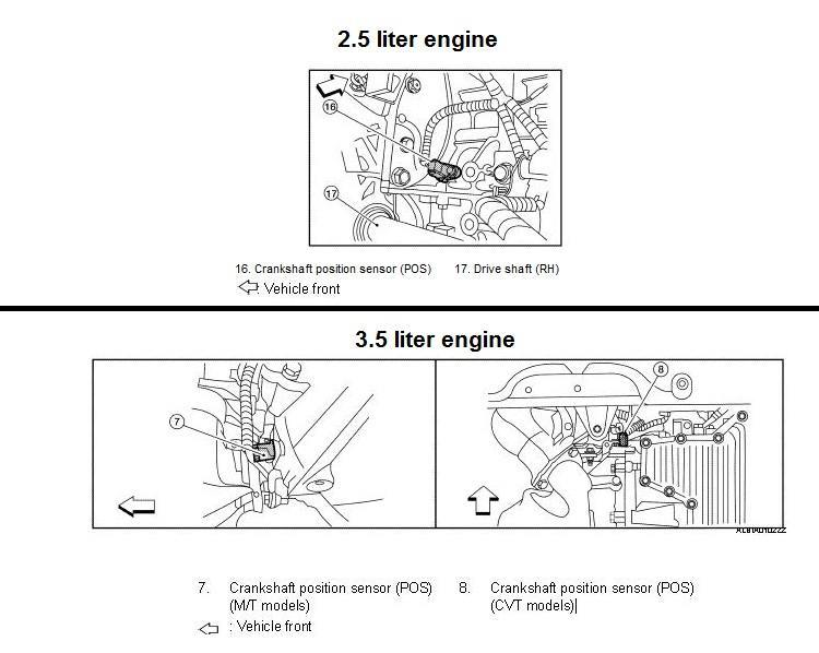 Crankshaft Position Sensor Circuit Diagram - Wiring Solutions