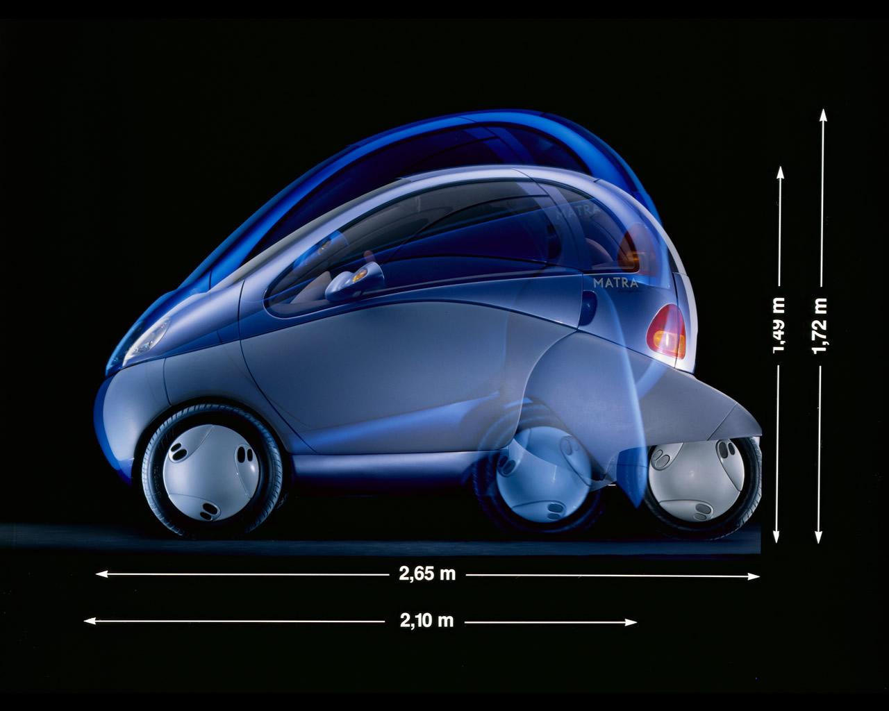 Photo Wallpaper Car Sound System Renault Zoom Electric City Car Concept 1992