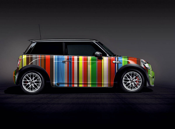 Cool Car Photos Wallpapers Red 233 Couverte Mini Paul Smith Autocult Fr