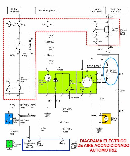 daewoo diagrama de cableado de la