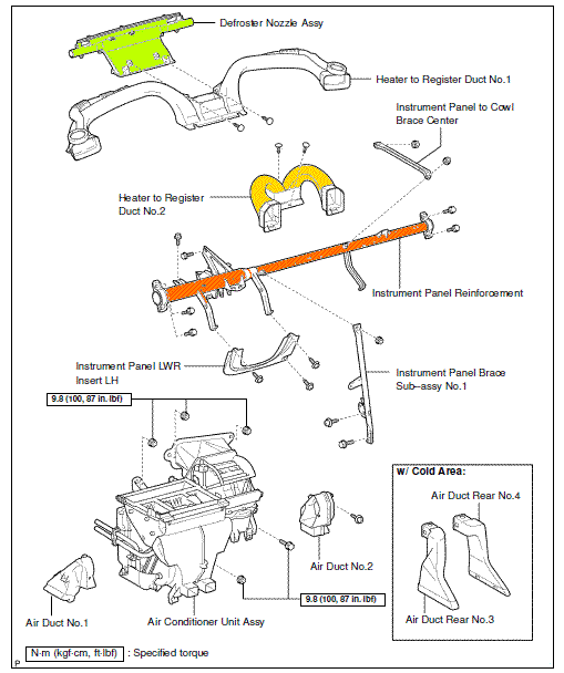 2011 toyota yaris Diagrama del motor