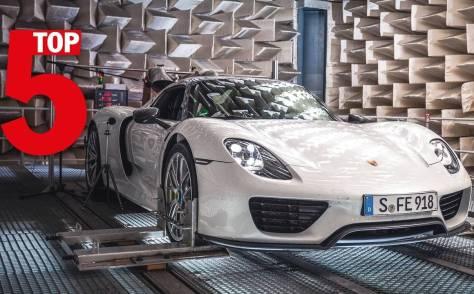 Porsche dice que éstos son sus cinco modelos que mejor suenan [vídeo]