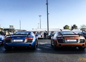 Rassemblement Audi Sport au Mans – La crème de la gamme RS et R8