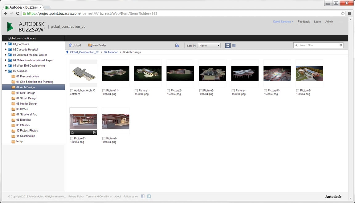 Project Management Demo Videos Buzzsaw Software Features - access project management