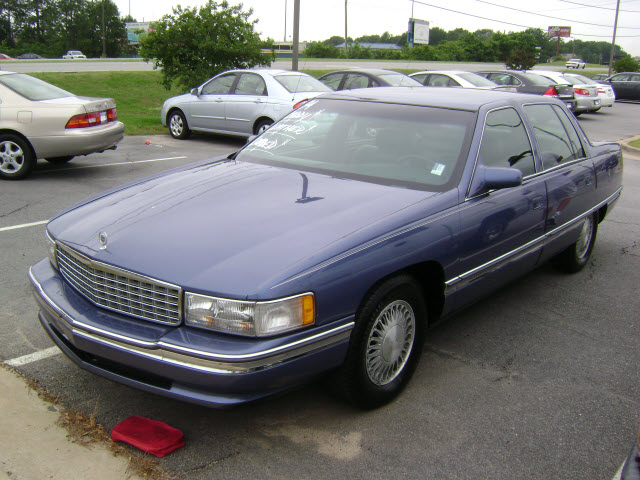 1994 Cadillac Deville Sedan VIN Number Search - AutoDetective