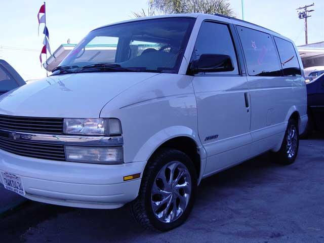 1998 Chevrolet Astro Cargo Van VIN Number Search - AutoDetective