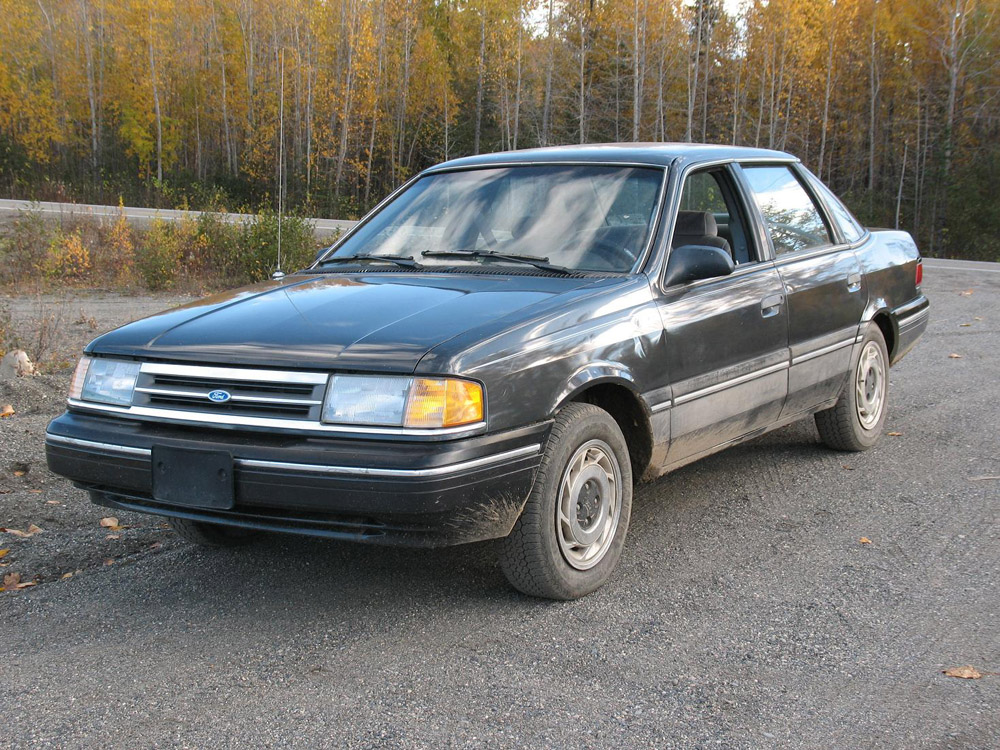 1994 Ford Tempo GL sedan Specs and VIN Numbers - AutoDetective