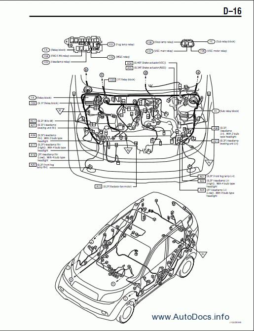 daihatsu transmission diagrams