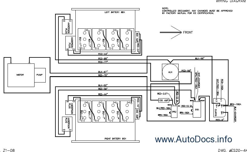 z45 genie lift wiring diagram