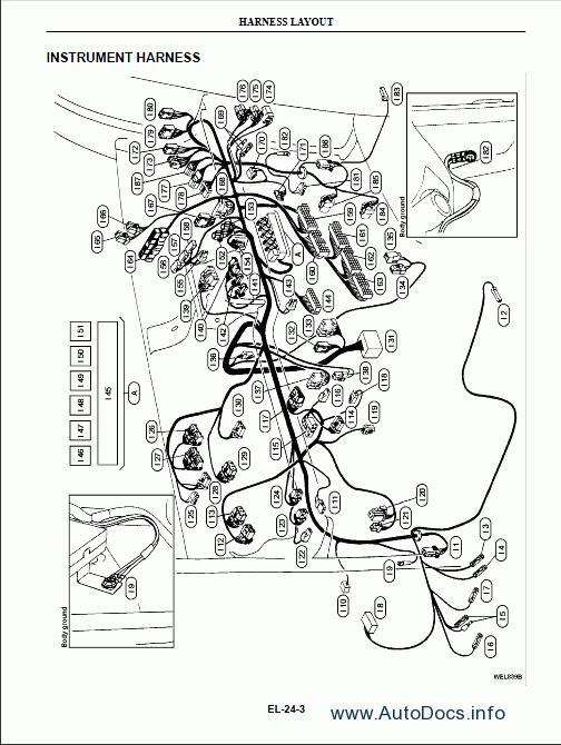 1972 datsun 1200 wiring diagram