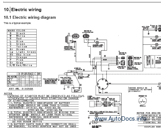 Takeuchi Engine Diagram