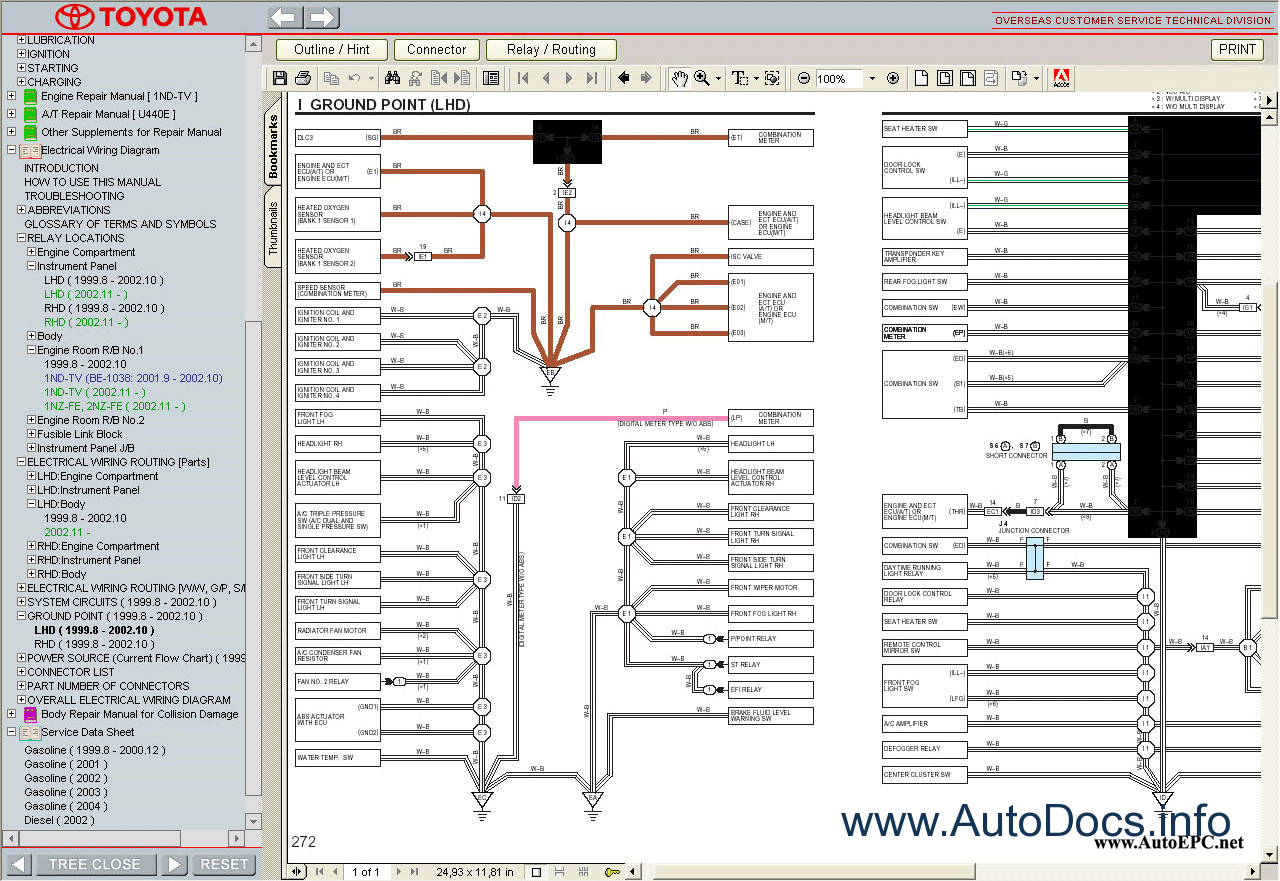 Echo Fuse Box Auto Electrical Wiring Diagram 2002 Toyota Owners