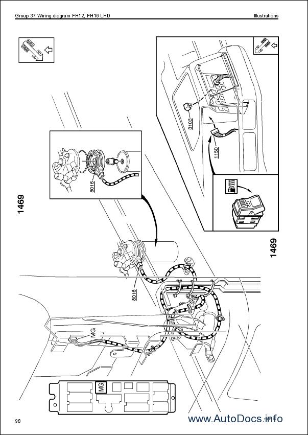 volvo fm fh nh12 wiring diagram