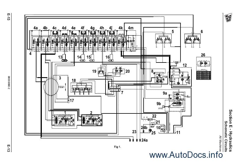jcb backhoe wiring diagram 1994