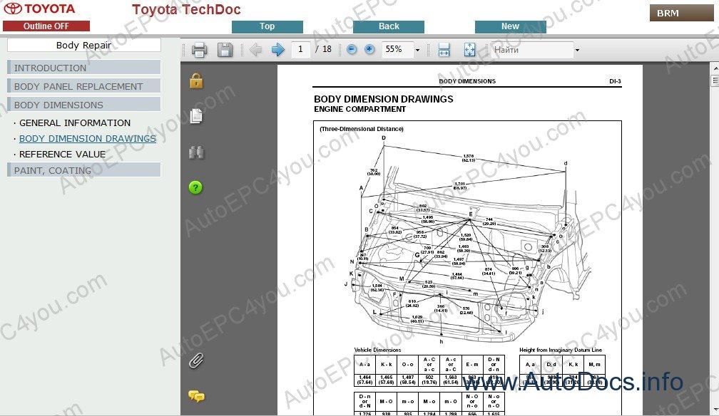 Toyota Land Cruiser Prado 150 Service Manual ENG repair manual Order