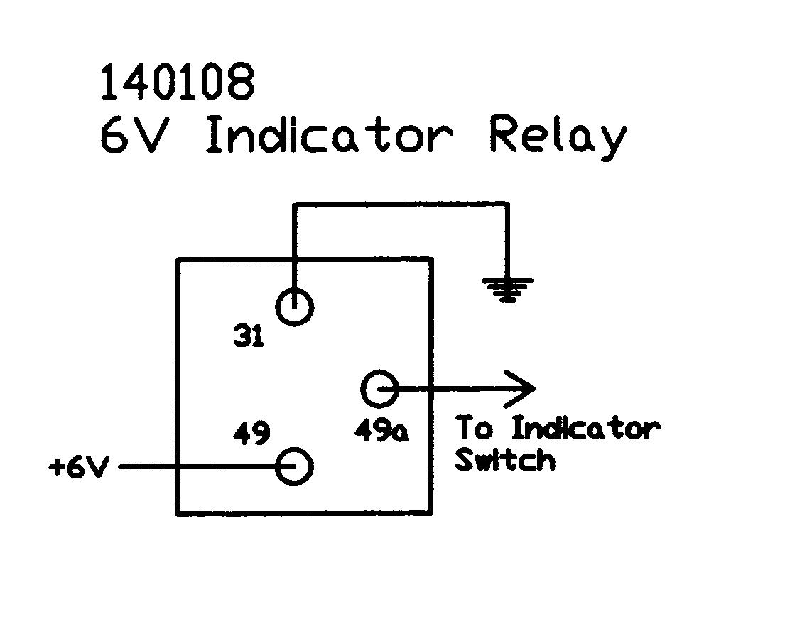 wiring a flasher relay