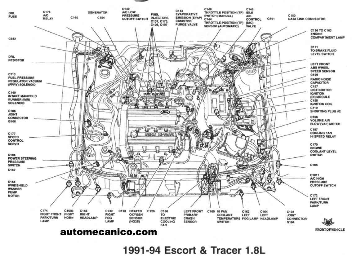 1995 ford aspire fuse diagram
