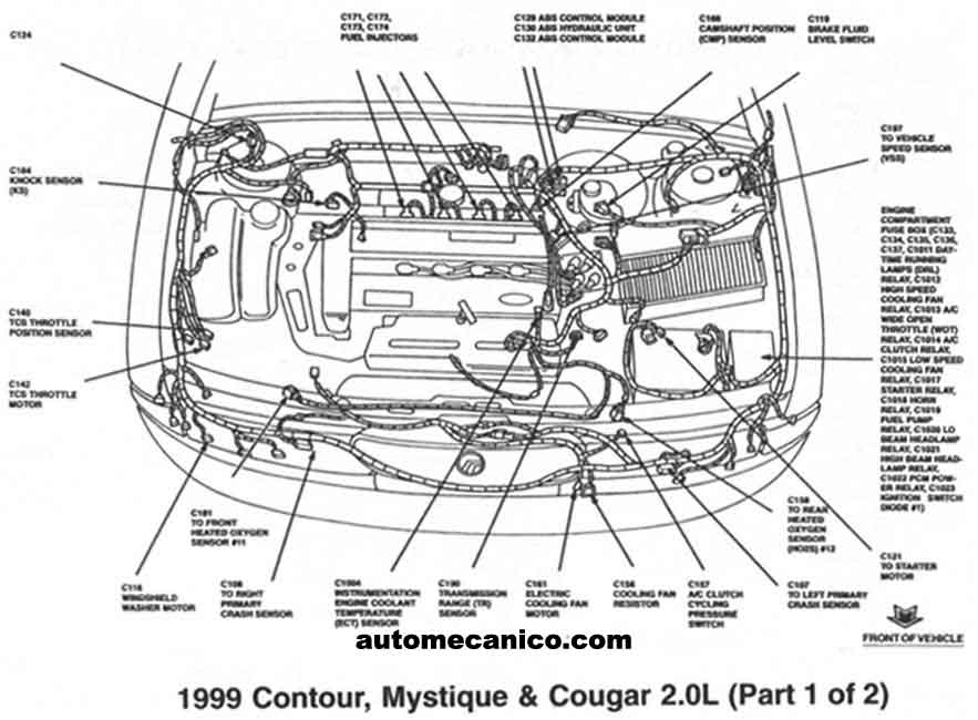 ford ac system diagram