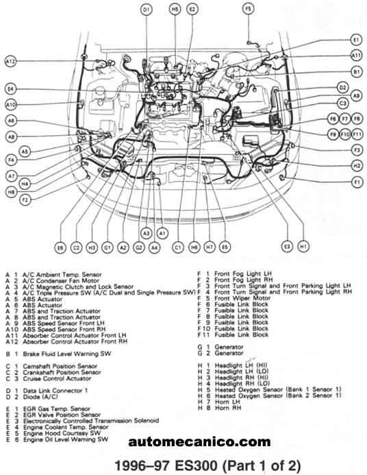 2000 lexus es300 engine diagram