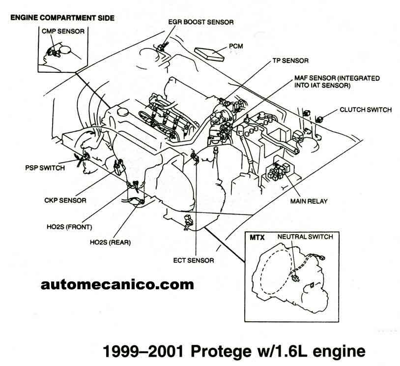 spark plug wire diagram mazda 626 1997 manual