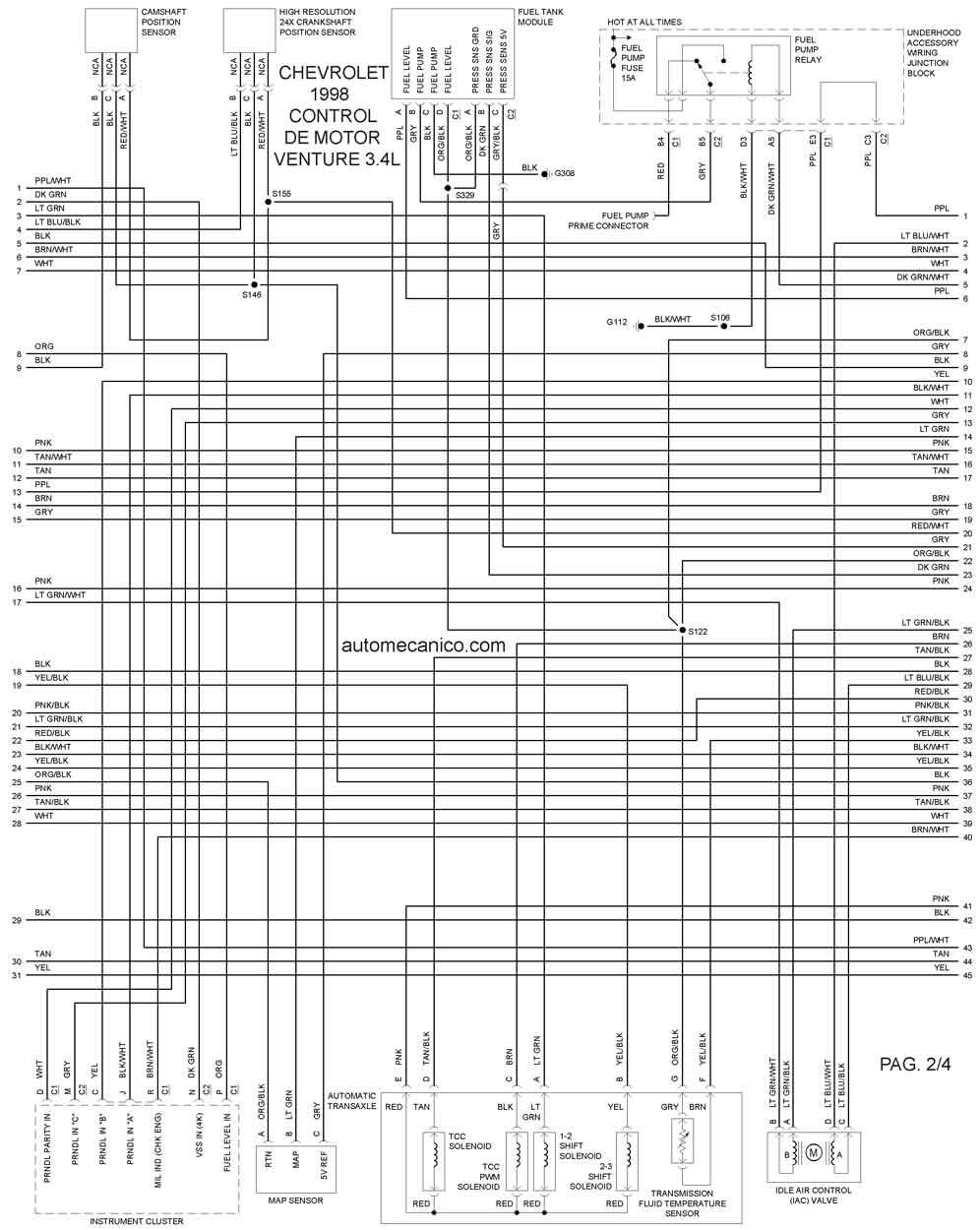volvo s40 wiring diagram de taller