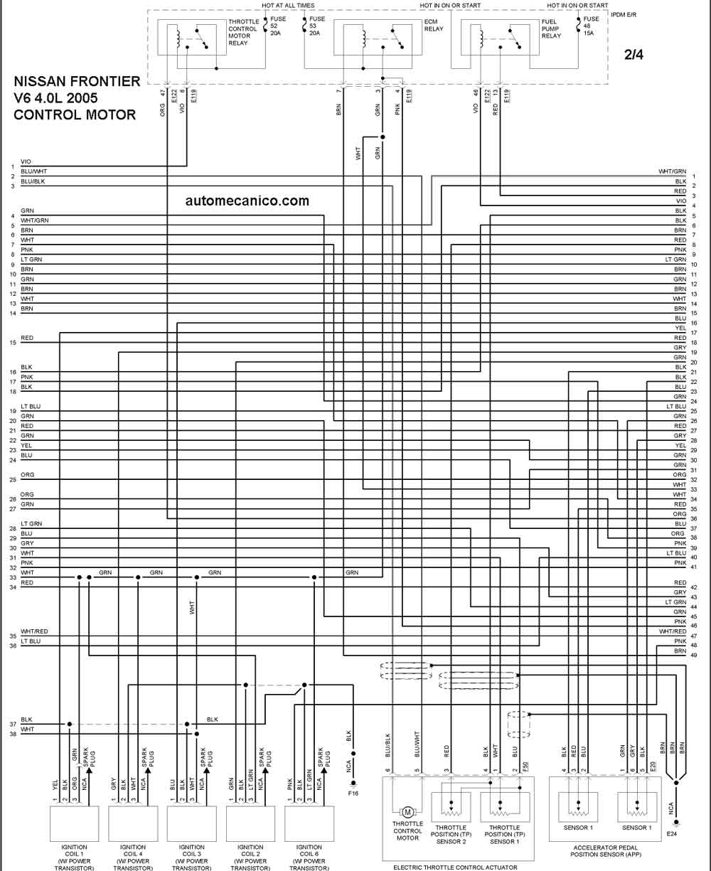 nissan rogue wiring diagram headlight