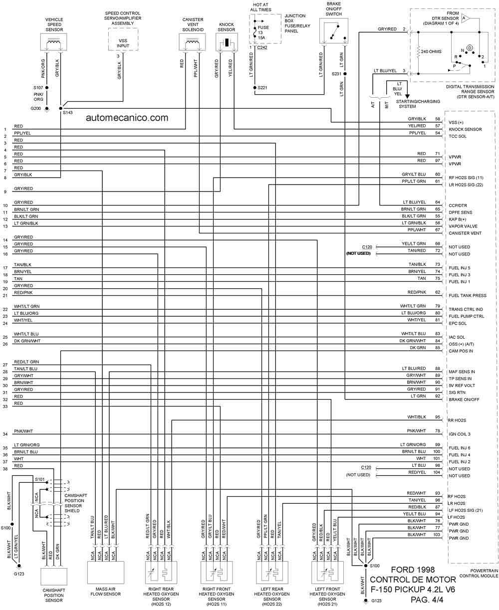 F Pickup on Mazda Cx 9 Fuse Box Diagram