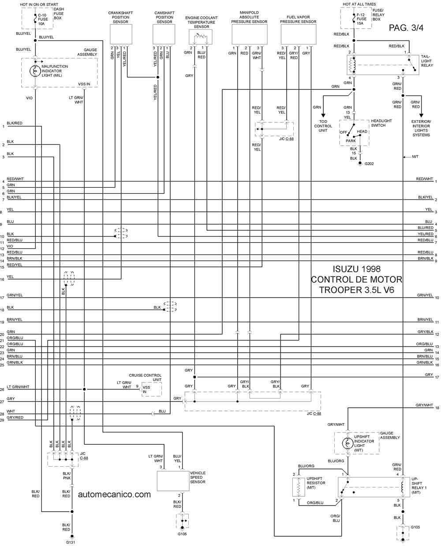 3 3l Diagrama del motor