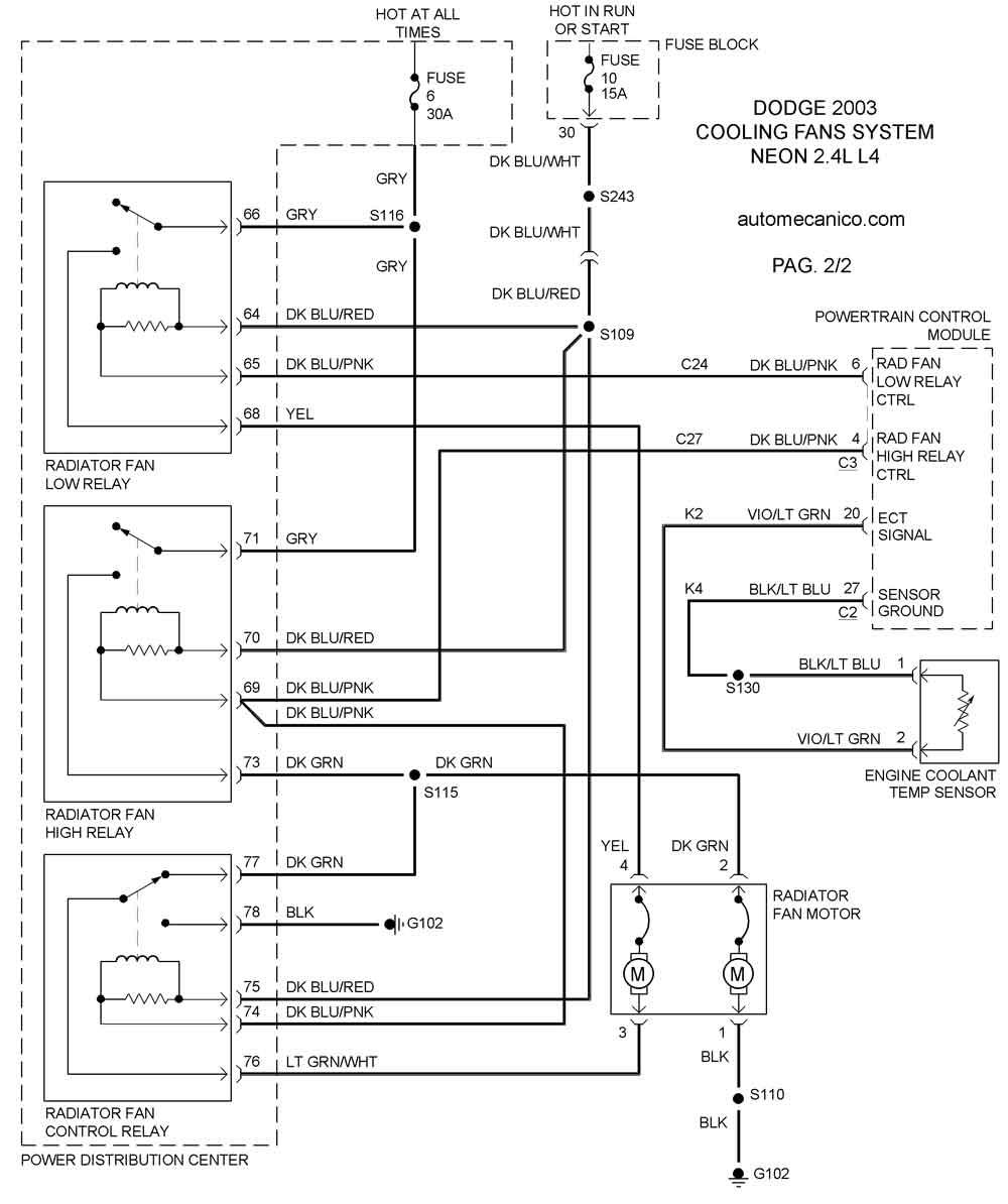 brilliance diagrama de cableado abanico