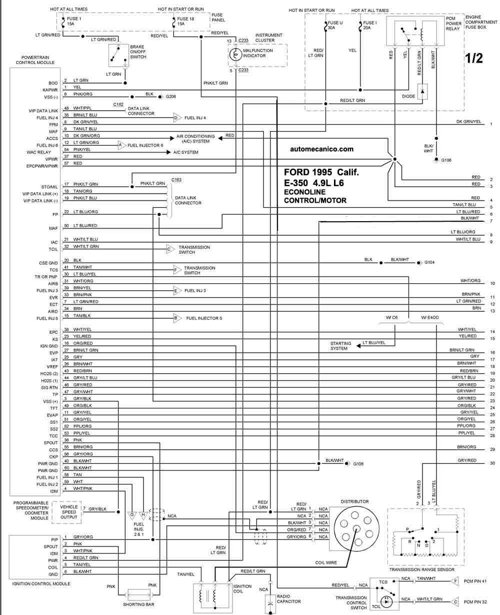 4 9l Diagrama del motor