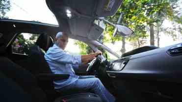 Excelente posição de dirigir