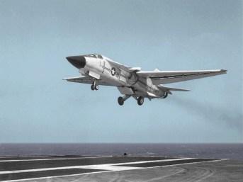 Testes com o F-111B, quando ainda se julgava viável sua operação