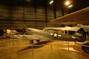Um Spitfire usado pelos americanos