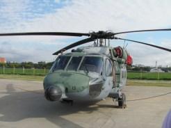 Detalhe do radar de busca e salvamento marítimo do UH-60