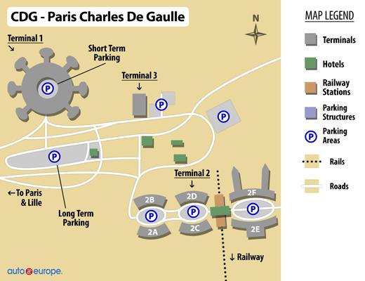 Car Rental Charles De Gaulle Airport Cdg Car Rental