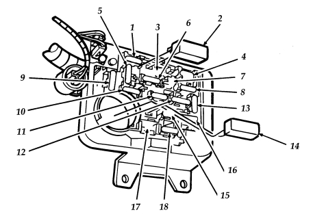 Ford Aerostar Second Generation (1991 - 1997) \u2013 fuse box diagram