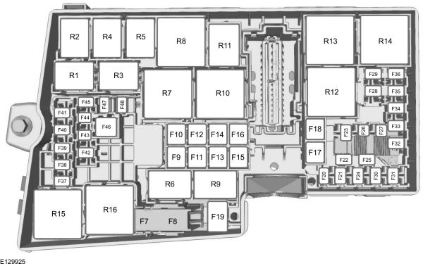 Ford C-MAX mk2 (2010 - 2015) - fuse box diagram (EU versrion) - Auto