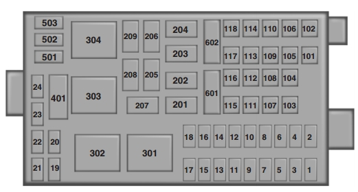 2011 Ford Super Duty Fuse Box - Example Electrical Wiring Diagram \u2022