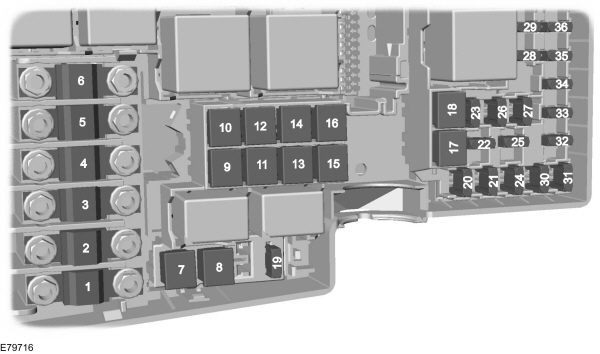 Ford C-MAX mk1 (2003 - 2010) - fuse box diagram (EU version) - Auto