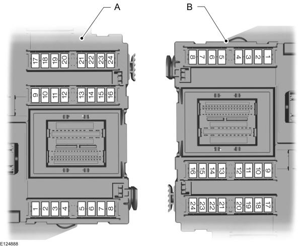 Ford Galaxy mk2 (2006 - 2014) - fuse box diagram (EU version) - Auto