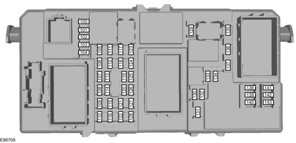 Ford Focus B4 (C307 post-MCA) - from 2007 - fuse box (EU version